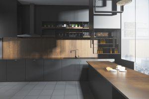 آشپزخانه تیره