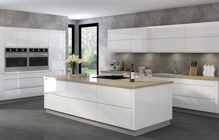 ایده هایی برای آشپزخانه سفید