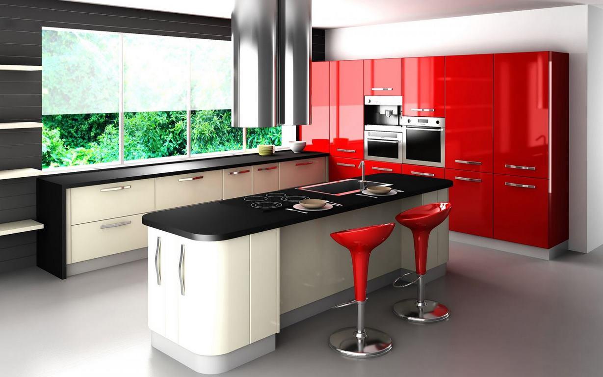 آشپزخانه پلی گلاس